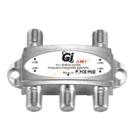 DiSEqC переключатель GI A401