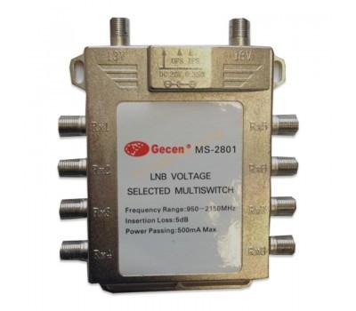 Мультисвитч радиальный Gesen 2x8 MS-2801