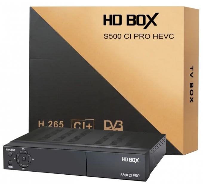 HD BOX S500 CI PRO
