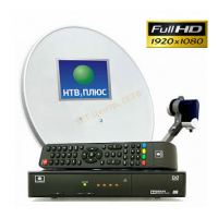 Комплект НТВ NTV-PLUS 1 HD VA PVR+